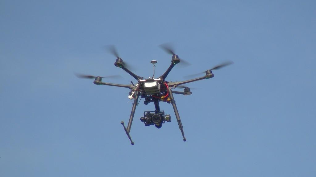 vues aériennes par drone